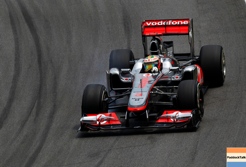 Lewis Hamilton at Brazilian GP
