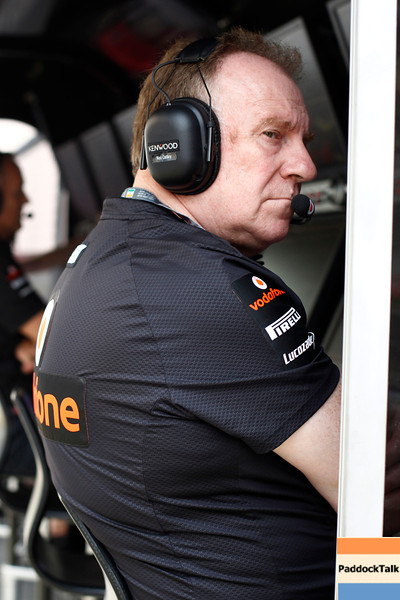 Neil Oatley at Indian GP