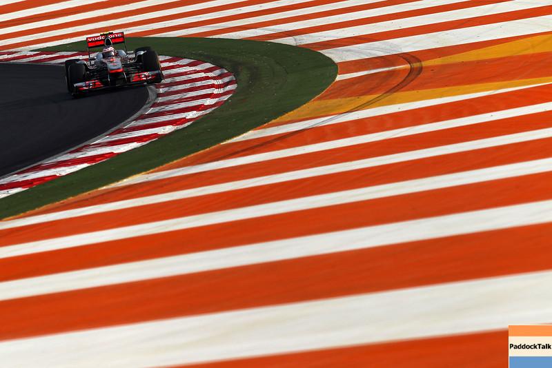 2011 Indian Grand Prix - Sunday<br /> Buddh International Circuit, New Delhi, India.<br /> 30th October 2011.<br /> World Copyright:Lorenzo Bellanca/LAT Photographic<br /> ref: Digital Image GU5G7971