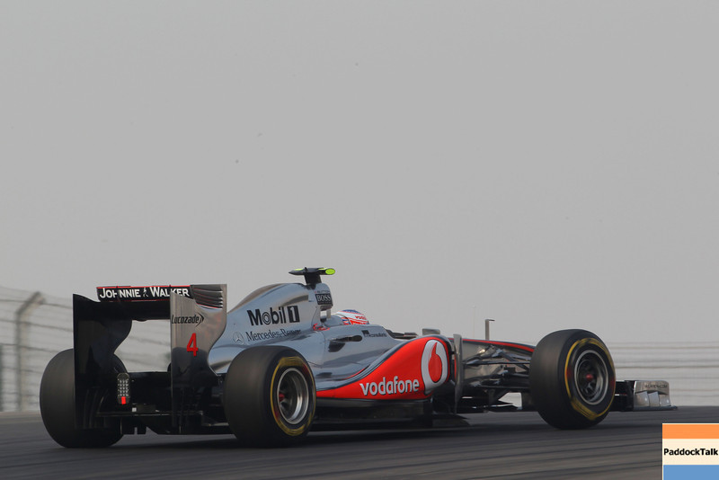 Jenson Button at Indian GP