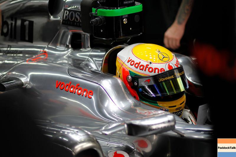Lewis Hamilton at Korean GP