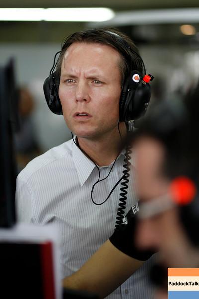 Sam Michael at Brazilian GP