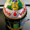 new helmet design of Lewis Hamilton at Brazilian GP
