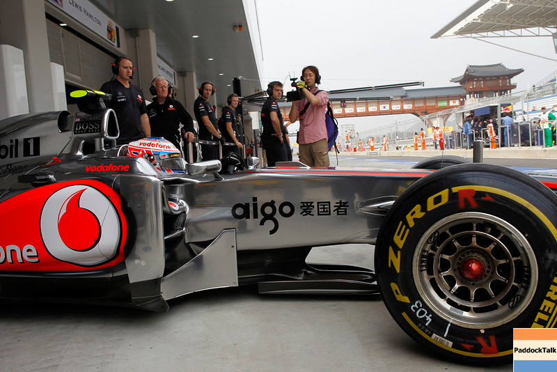 Jenson Button at Korean GP