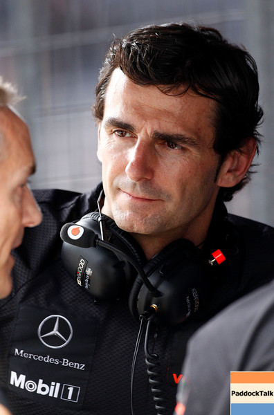 Pedro de la Rosa at Brazilian GP