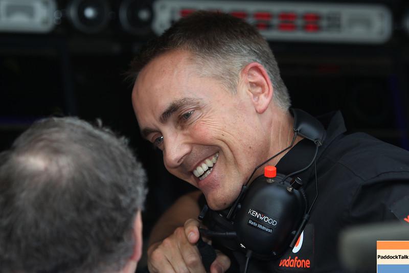 Martin Whitmarsh at Indian GP