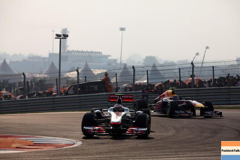 2011 Indian Grand Prix - Sunday<br /> Buddh International Circuit, New Delhi, India.<br /> 30th October 2011.<br /> World Copyright:Glenn Dunbar/LAT Photographic<br /> ref: Digital Image IMG_5849