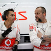 Motorsports: FIA Formula One World Championship 2011, Grand Prix of Korea, mechanic of Vodafone McLaren Mercedes