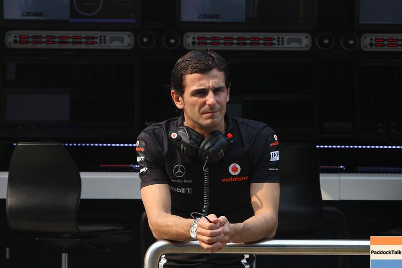 Pedro de la Rosa at Indian GP