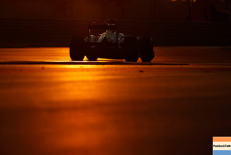 Jenson Button at Abu Dhabi GP