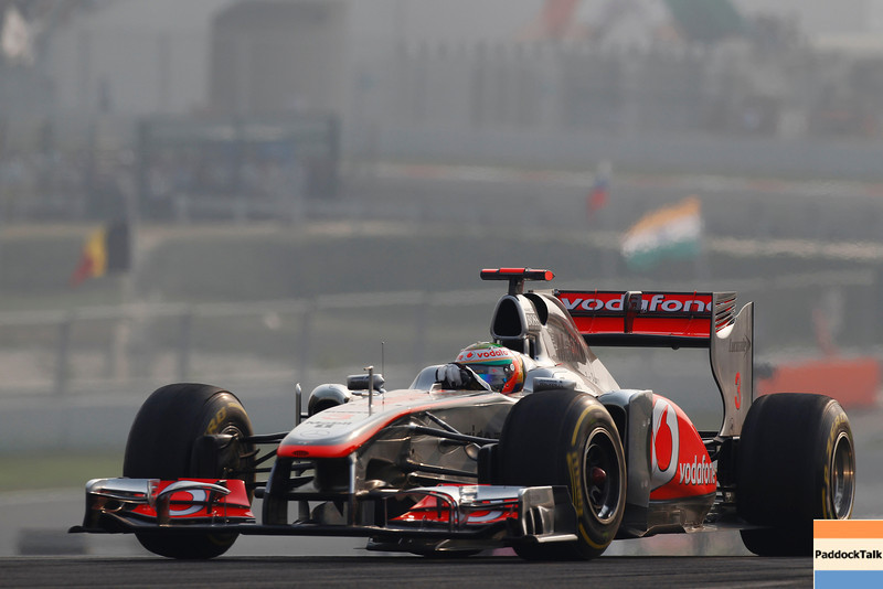 Lewis Hamilton at Indian GP