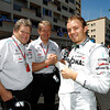 Motorsports: FIA Formula One World Championship 2011, Grand Prix of Monaco, Norbert Haug (GER, Mercedes GP Petronas F1 Team), 08 Nico Rosberg (GER, Mercedes GP Petronas F1 Team),