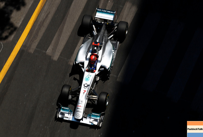 Motorsports: FIA Formula One World Championship 2011, Grand Prix of Monaco, 07 Michael Schumacher (GER, Mercedes GP Petronas F1 Team),