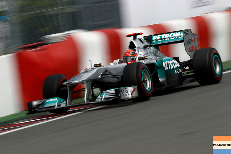 Motorsports: FIA Formula One World Championship 2011, Grand Prix of Canada, 07 Michael Schumacher (GER, Mercedes GP Petronas F1 Team),