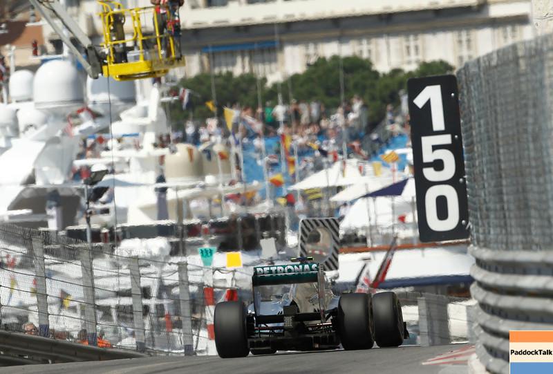 Motorsports: FIA Formula One World Championship 2011, Grand Prix of Monaco, 08 Nico Rosberg (GER, Mercedes GP Petronas F1 Team),