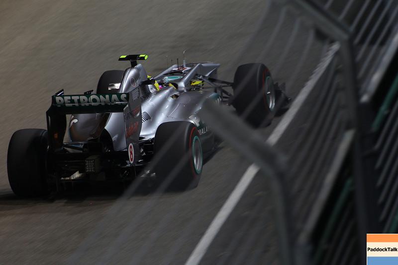 Motorsports: FIA Formula One World Championship 2011, Grand Prix of Singapore, 08 Nico Rosberg (GER, Mercedes GP Petronas F1 Team),