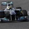 Motorsports: FIA Formula One World Championship 2011, Test Barcelona,  08 Nico Rosberg (GER, Mercedes GP Petronas F1 Team),