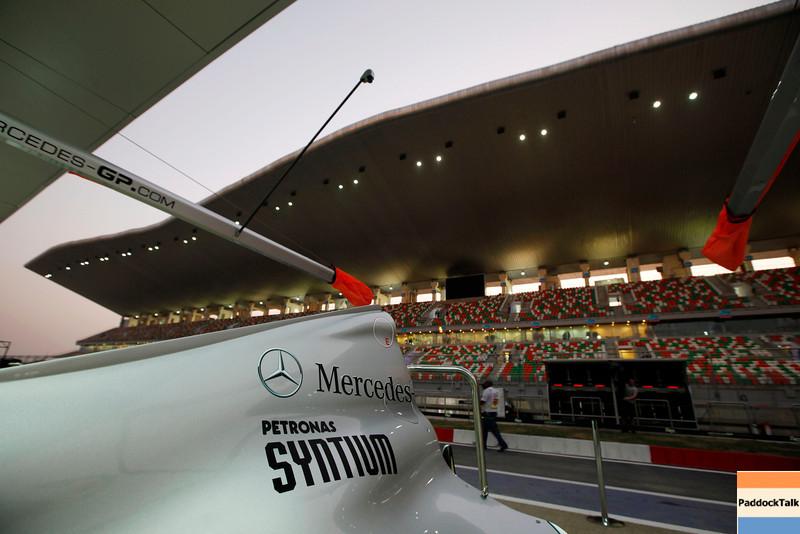 Motorsports: FIA Formula One World Championship 2011, Grand Prix of India, feature of Mercedes GP Petronas F1 Team
