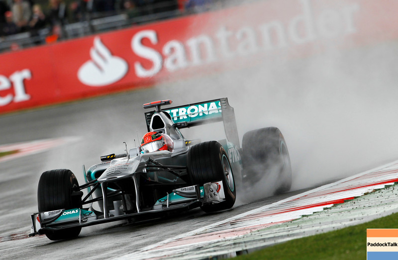Motorsports: FIA Formula One World Championship 2011, Grand Prix of Great Britain, 07 Michael Schumacher (GER, Mercedes GP Petronas F1 Team),