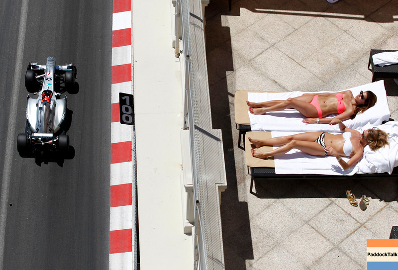 Motorsports: FIA Formula One World Championship 2011, Grand Prix of Monaco, 07 Michael Schumacher (GER, Mercedes GP Petronas F1 ),