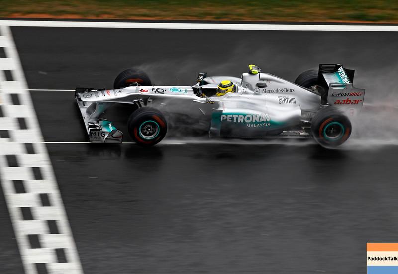 Motorsports: FIA Formula One World Championship 2011, Grand Prix of Korea, 08 Nico Rosberg (GER, Mercedes GP Petronas F1 Team),