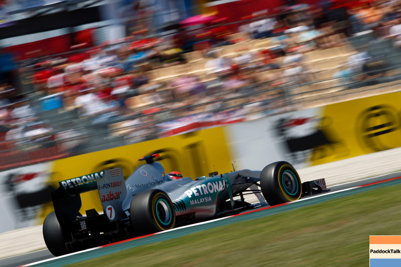 Motorsports: FIA Formula One World Championship 2011, Grand Prix of Spain, 07 Michael Schumacher (GER, Mercedes GP Petronas F1 Team),
