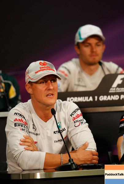 Motorsports: FIA Formula One World Championship 2011, Grand Prix of Monaco, 07 Michael Schumacher (GER, Mercedes GP Petronas F1 Team),