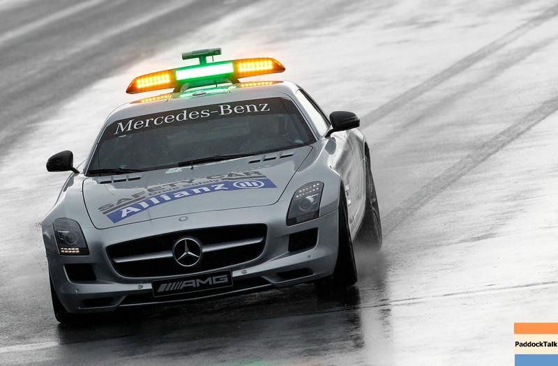 Motorsports: FIA Formula One World Championship 2011, Grand Prix of Canada, Bernd Maylaender (GER, Safety Car driver),