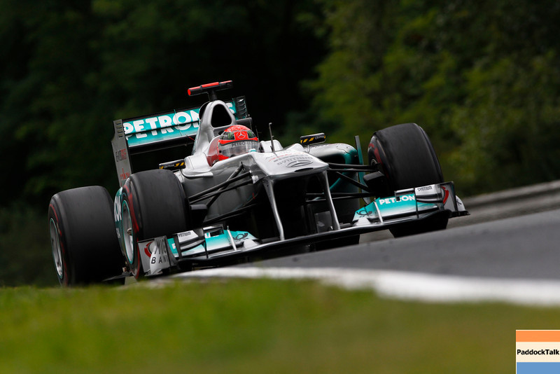Motorsports: FIA Formula One World Championship 2011, Grand Prix of Hungary, 07 Michael Schumacher (GER, Mercedes GP Petronas F1 Team),