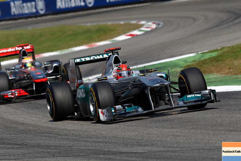 Motorsports: FIA Formula One World Championship 2011, Grand Prix of Italy, 07 Michael Schumacher (GER, Mercedes GP Petronas F1 Team),