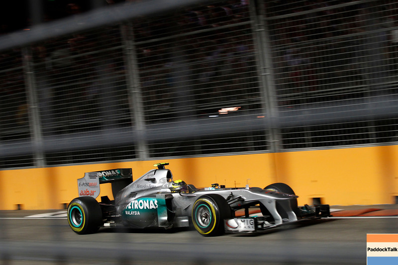 Motorsports: FIA Formula One World Championship 2011, Grand Prix of Singapore, 04 Nico Rosberg (GER, Mercedes GP Petronas),