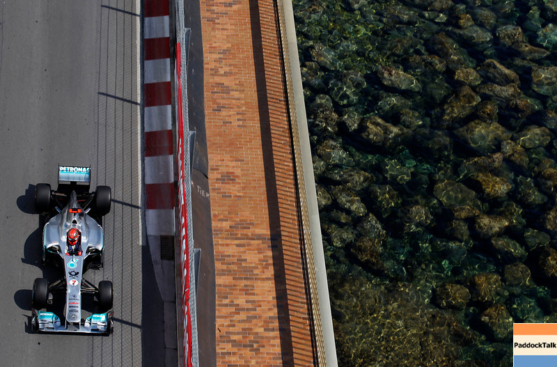 Motorsports: FIA Formula One World Championship 2011, Grand Prix of Monaco, 07 Michael Schumacher (GER, Mercedes GP Petronas F1 ),