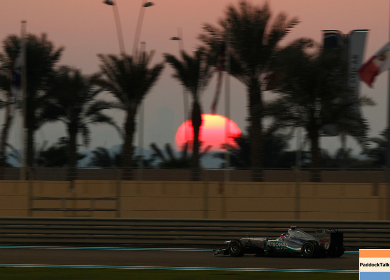 Motorsports: FIA Formula One World Championship 2011, Grand Prix of Abu Dhabi, 07 Michael Schumacher (GER, Mercedes GP Petronas F1 Team),