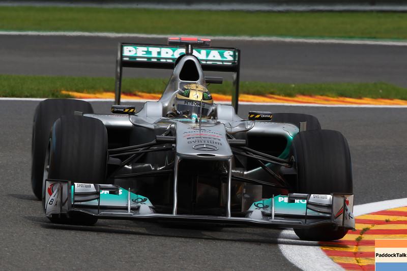 Motorsports: FIA Formula One World Championship 2011, Grand Prix of Belgium, 03 Michael Schumacher (GER, Mercedes GP Petronas),