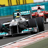 Motorsports: FIA Formula One World Championship 2011, Grand Prix of Hungary, 08 Nico Rosberg (GER, Mercedes GP Petronas F1 Team), 05 Fernando Alonso (ESP, Scuderia Ferrari Marlboro),