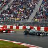Motorsports: FIA Formula One World Championship 2011, Grand Prix of Canada, 08 Nico Rosberg (GER, Mercedes GP Petronas F1 Team), 05 Fernando Alonso (ESP, Scuderia Ferrari Marlboro),