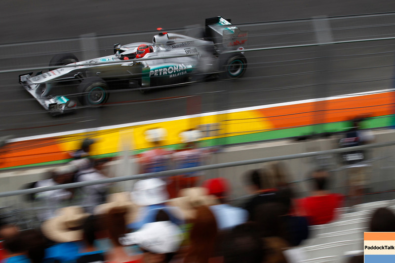 Motorsports: FIA Formula One World Championship 2011, Grand Prix of Europe, 07 Michael Schumacher (GER, Mercedes GP Petronas F1 Team),