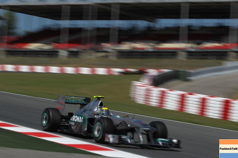 Motorsports: FIA Formula One World Championship 2011, Grand Prix of Spain, 08 Nico Rosberg (GER, Mercedes GP Petronas F1 Team),