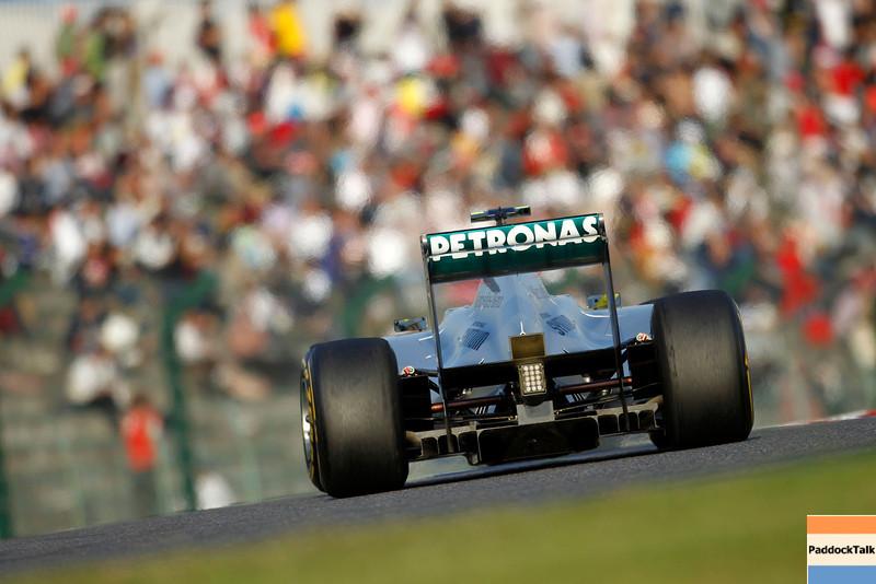 Motorsports: FIA Formula One World Championship 2011, Grand Prix of Japan, 08 Nico Rosberg (GER, Mercedes GP Petronas F1 Team),