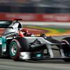Motorsports: FIA Formula One World Championship 2011, Grand Prix of Singapore, 07 Michael Schumacher (GER, Mercedes GP Petronas F1 Team),
