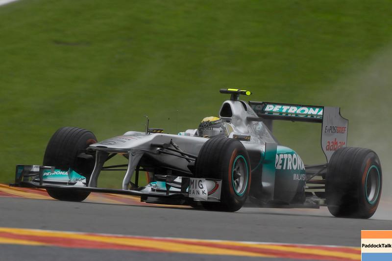 Motorsports: FIA Formula One World Championship 2011, Grand Prix of Belgium, 08 Nico Rosberg (GER, Mercedes GP Petronas F1 Team),