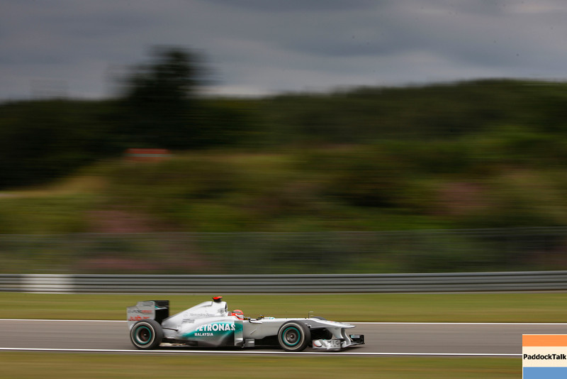 Motorsports: FIA Formula One World Championship 2011, Grand Prix of Germany, Nuerburgring, 07 Michael Schumacher (GER, Mercedes GP Petronas F1 Team),