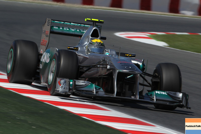 Motorsports: FIA Formula One World Championship 2011, Grand Prix of Spain, 08 Nico Rosberg (GER, Mercedes GP Petronas F1 Team),