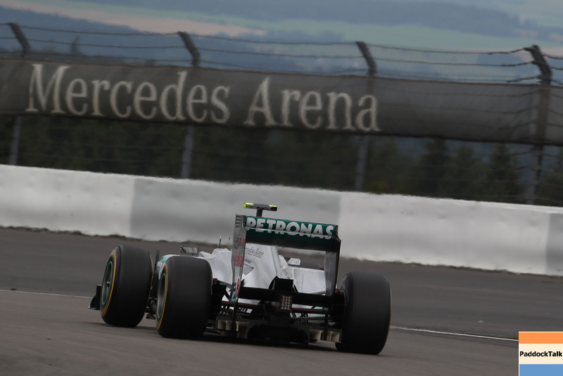 Motorsports: FIA Formula One World Championship 2011, Grand Prix of Germany, 08 Nico Rosberg (GER, Mercedes GP Petronas F1 Team),