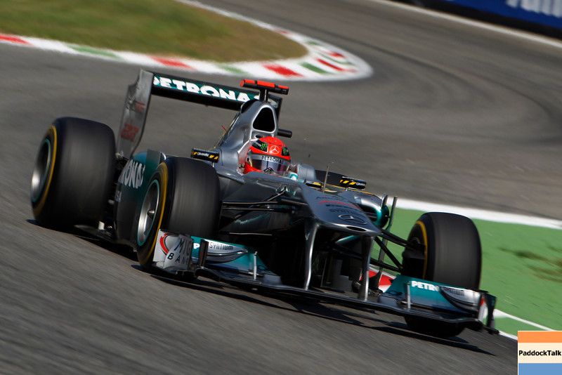 Motorsports: FIA Formula One World Championship 2011, Grand Prix of Italy, 07 Michael Schumacher (GER, Mercedes GP Petronas F1 Team),