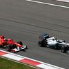 Motorsports: FIA Formula One World Championship 2011, Grand Prix of Turkey, 05 Fernando Alonso (ESP, Scuderia Ferrari Marlboro), 08 Nico Rosberg (GER, Mercedes GP Petronas F1 Team),