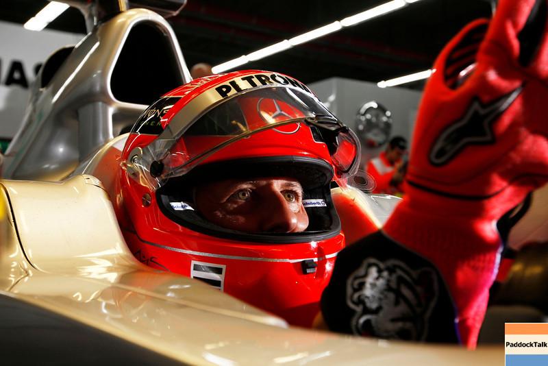 Motorsports: FIA Formula One World Championship 2011, Grand Prix of Korea, 07 Michael Schumacher (GER, Mercedes GP Petronas F1 Team),