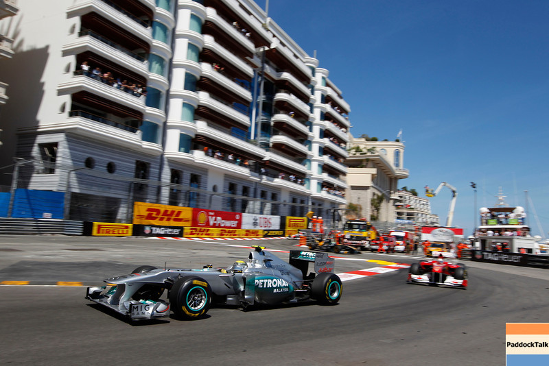 Motorsports: FIA Formula One World Championship 2011, Grand Prix of Monaco, 08 Nico Rosberg (GER, Mercedes GP Petronas F1 Team),