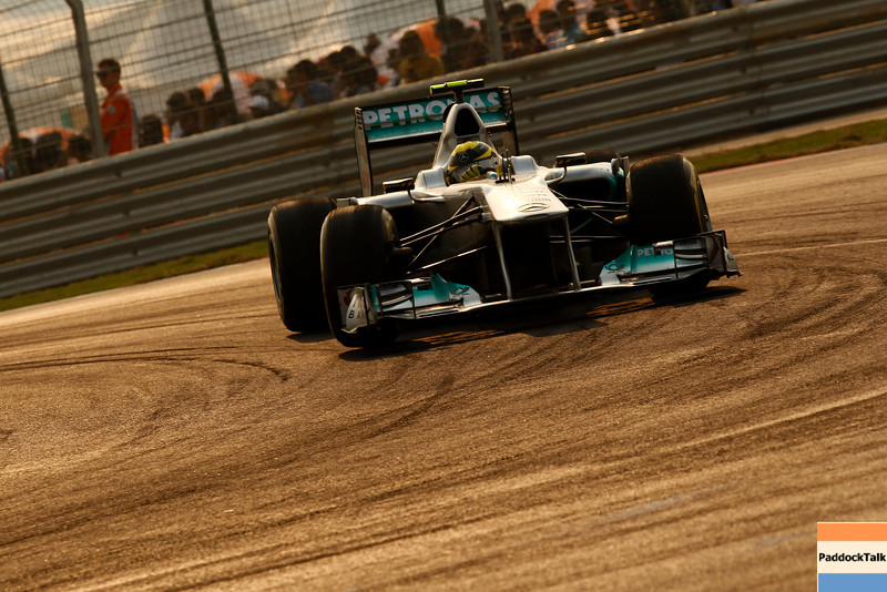 Motorsports: FIA Formula One World Championship 2011, Grand Prix of India, 08 Nico Rosberg (GER, Mercedes GP Petronas F1 Team),