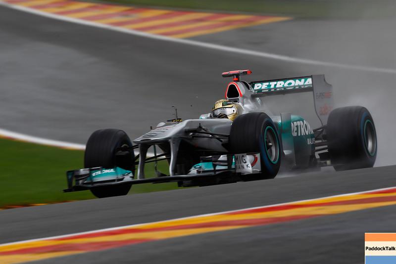 Motorsports: FIA Formula One World Championship 2011, Grand Prix of Belgium, 07 Michael Schumacher (GER, Mercedes GP Petronas F1 Team),